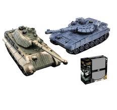 """<b>Радиоуправляемый танковый бой</b> Huan Qi HQ555 """"ZeGan ..."""