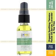 Aura Cacia, <b>Organic Soothing Tamanu</b> Facial Oil Serum, Lavender ...