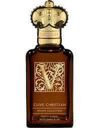 <b>CLIVE CHRISTIAN</b> - <b>V Fruity</b> Floral for women eau de parfum 50ml ...