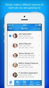 resume maker   pro cv designer on the app storeiphone screenshot