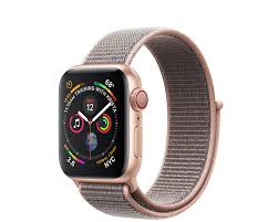 Apple Watch Series 4 40mm (GPS+LTE) <b>Gold</b> Aluminum Case with ...