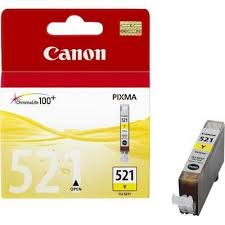 <b>Картридж</b> струйный <b>Canon CLI</b>-<b>521Y</b> yellow - желтая ...