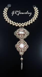 Champagne Pearl <b>Necklace</b> by Guzialla Reed - G R Jewelry ...