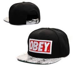 Кепка Snapback <b>OBEY</b> с прямым козырьком (рэперская) | Кепка