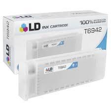 <b>Epson T6942 Cyan</b> Ink Cartridge - 4inkjets