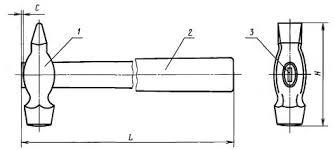 ГОСТ 2310-77 <b>Молотки слесарные</b> стальные. Технические условия