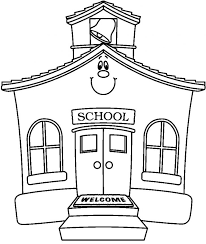 Small Picture School House Coloring Page fablesfromthefriendscom