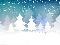 christmas tree card powerpoint templates blue christmas christmas tree card ppt backgrounds