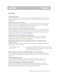 tips on writing a cover letter resume badak cover letter and resume writing tips