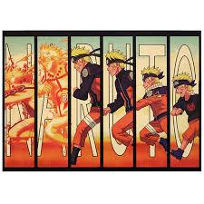 <b>TIE LER</b> Naruto Vintage Kraft Paper Classic Nostalgia <b>Anime</b> Poster ...