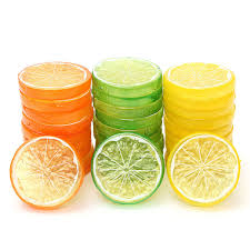 Lemon And Lime Kitchen Decor Online Buy Wholesale Artificial Lemon Slices From China Artificial