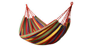 <b>Portable</b> Outdoor Thickened Single-Person Canvas Swing <b>Hammock</b>