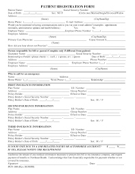 patient registration form template blank medical patient patient registration form template blank medical patient registration forms