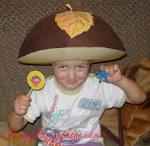 Шляпки грибов для детей