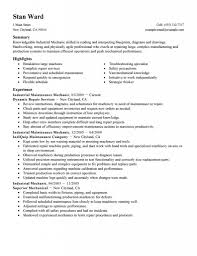 maintenance resume objective for housecleaners maintenance and maintenance technician resume
