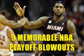 9 Memorable NBA Playoff Blowouts | Total Pro Sports via Relatably.com