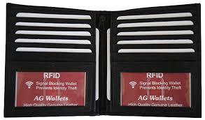 AG <b>Wallets Men's</b> RFID Cow <b>Leather European</b> Bifold <b>Wallet</b> Hipster ...