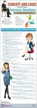 best images about interview tips tips for the logic behind 19 common interview questions