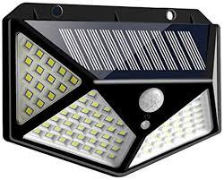 FEDBNET <b>LED Solar</b> Outdoor Motion Sensor <b>Lights</b> with IP65 ...