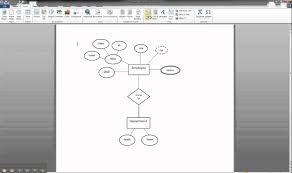er diagram in ms word      illustrating cardinality   youtubeer diagram in ms word      illustrating cardinality