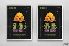 spring equinox flyer template v6 by lou606 graphicriver equinox flyer template v6 jpg