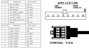 ford taurus radio wiring diagram ford taurus radio 2000 ford taurus radio wiring diagram wiring diagrams