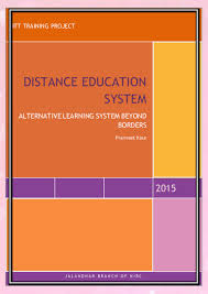 it project distance learning system
