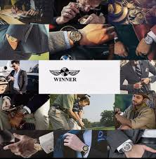 2019 Hot <b>Winner</b> Luxury Brand Luxury Sport <b>Men</b> Automatic ...