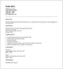 recent graduate resume example recent graduate resume samples
