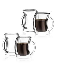 JoyJolt Caleo Double <b>Wall</b> Insulated <b>Coffee</b> Mugs, Set of 4 ...