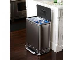 dual waste bins kitchen  stainless steel garbage can for kitchen  photos photos in stainless s