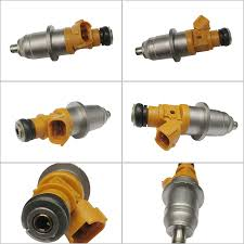 Set of 6 Fuel Injector Fits for 2004 Yamaha 250hp HPDI 2-stroke ...