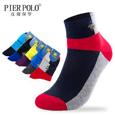 <b>PIER POLO</b> High Quality Casual Men's Business Socks For Men ...