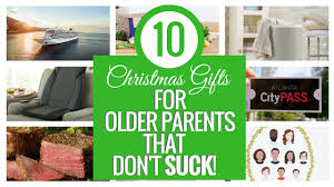 10 Christmas Gifts for Older Parents that Don