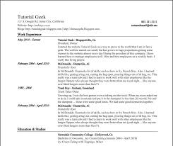 basic resume template generic resume sample feaffdfffaca sample example generic resume examples