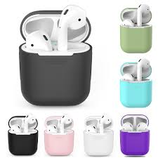 TPU <b>Silicone Bluetooth Wireless Earphone</b> Case For AirPods 1 ...