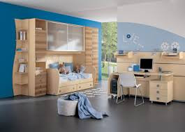 bedroom kid:  bedrooms kid with computer desk and bunk bed and bookchase full size