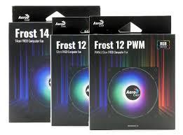 Обзор корпусных <b>вентиляторов Aerocool Frost 12</b>, Frost 12 PWM и ...