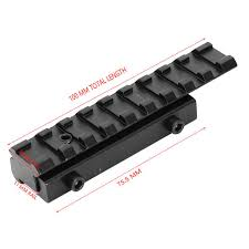 Online Shop Low Profile <b>Dovetail Rail</b> Adapter <b>Extend</b> 11mm to ...