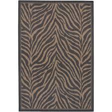 print living room decor ideas fashionable animal print outdoor rugs wayfair recife black zebra indooroutdoor are