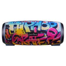 Портативная <b>колонка Perfeo HIP HOP</b>, граффити (PF_A4336)