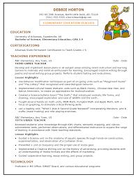 educator resume template   resume format templates ed teacher    resume