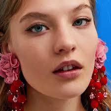 JUJIA good quality New <b>Fashion</b> Vintage <b>Sequins</b> flower Earrings ...