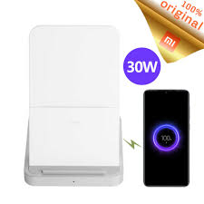 Stock <b>Original Xiaomi</b> Vertical Air cooled <b>Wireless</b> Charger 30W Max ...