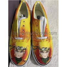<b>Naruto Canvas Shoes</b> Naruto Custom Painted Shoes