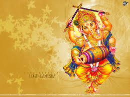 Stylish god ganesh wallpaper for mobile