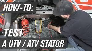 How To Test a UTV/ATV <b>Stator</b> - YouTube