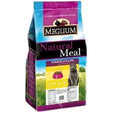 <b>MEGLIUM</b> NEUTERED <b>Корм</b> для стерилизованных кошек курица ...