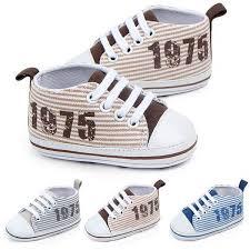 Buy <b>Classic</b> Casual <b>Canvas Baby Shoes</b> For Newborn Sports ...