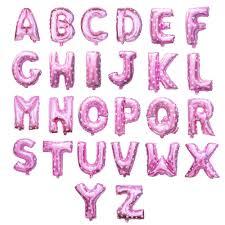"16"" Letter Foil <b>Balloon</b> (Pink) - 1 piece | Lazada PH"